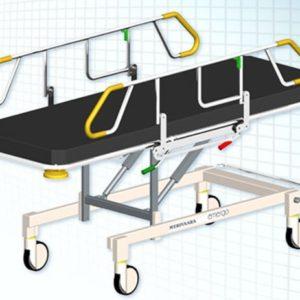Каталки для транспортировки пациентов Emergo Merivaara   Мебель медицинская   Тележки для перевозки больных