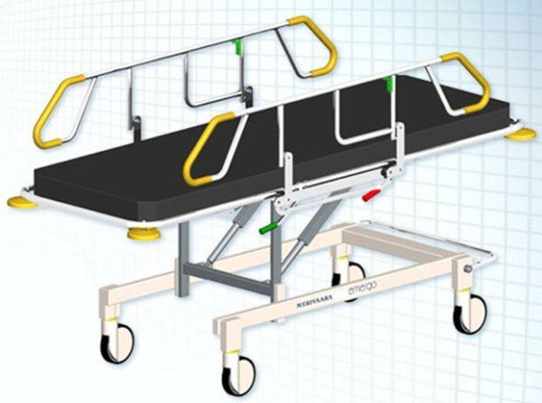 Каталки для транспортировки пациентов Emergo Merivaara | Мебель медицинская | Тележки для перевозки больных
