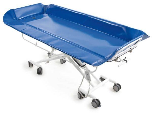 Каталка медицинская для транспортировки и ухода за пациентами SINA EL-160 душевая пр-ва BEKA Hospitec | Мебель медицинская | Тележки для перевозки больных