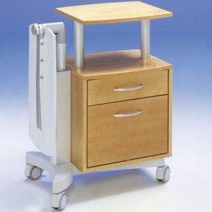 Больничные прикроватные тумбочки Nova Merivaara   Мебель медицинская   Тумбочки