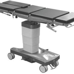 Стол общехирургический с функцией бокового наклона панели и изломом спинной секции ОК-ГАММА МОБИЛ 01   Мебель медицинская   Столы медицинские   Столы операционные