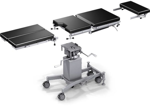 Стол общехирургический операционный переносной разборный в базовой комплектации ОК-ОМЕГА 01   Мебель медицинская   Столы медицинские   Столы операционные