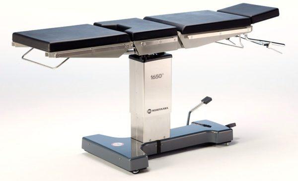Операционный стол 1650 Merivaara   Мебель медицинская   Столы медицинские   Столы операционные