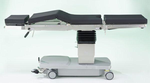 Мобильный гидравлический операционный стол OPX Mobilis 200    Мебель медицинская   Столы медицинские   Столы операционные