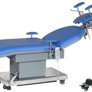 Стол операционный для офтальмологии и оториноларингологии электрический JK205-1B с электрической регулировкой головной секции (вар.осн. 5) | Мебель медицинская | Столы медицинские | Столы операционные