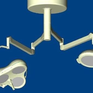 Mach M3 + Mach M2 Комбинированный потолочный бестеневой операционный светильник | Светильники медицинские | Комбинированные операционные светильники