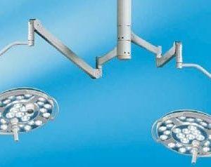 Mach 500 + Mach 500 Комбинированный потолочный бестеневой светодиодный операционный светильник | Светильники медицинские | Комбинированные операционные светильники